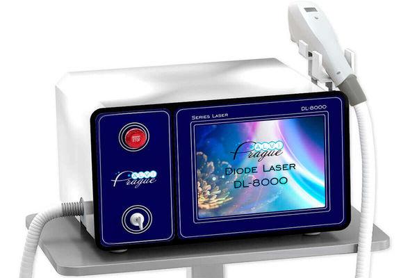 Диодный лазер DL-8000 - Покупайте аппарат для лазерной эпиляции волос по выходной цене