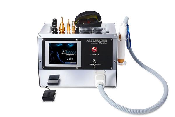 Q switched ND Yag laser pro odstranění tetování TL-500
